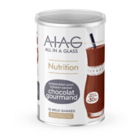 allinaglass boisson hyperproteiné chocolat gourmand