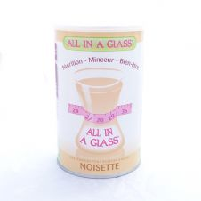 regime hyperproteique ALL IN A GLASS boite noisette