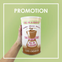 promotion cafe cremeux allinaglass